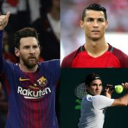 Lionel Messi, Cristiano Ronaldo, Roger Federer... : voici les sportifs les mieux payés en 2018  💰
