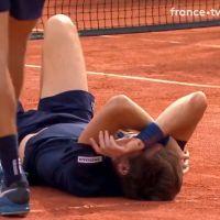 Roland-Garros 2018 : Nicolas Mahut reçoit une balle en pleine tête par son coéquipier, la vidéo choc