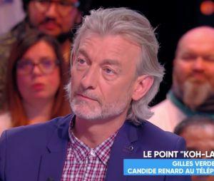 Koh Lanta annulé : Candide Renard sort du silence, Gilles Verdez raconte son témoignage dans TPMP