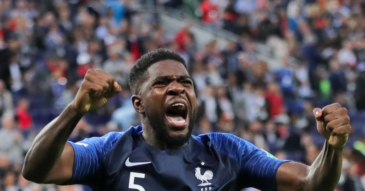 coupe du monde 2018 samuel umtiti a lui aussi sa chanson apr s son but contre la belgique. Black Bedroom Furniture Sets. Home Design Ideas