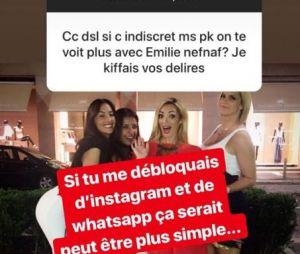 Emilie Nef Naf et Sidonie Biemont fâchées ? La gagnante de Secret Story 3 balance !