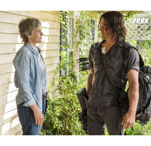 The Walking Dead saison 9 : Daryl et Carol en couple ? L'espoir de retour