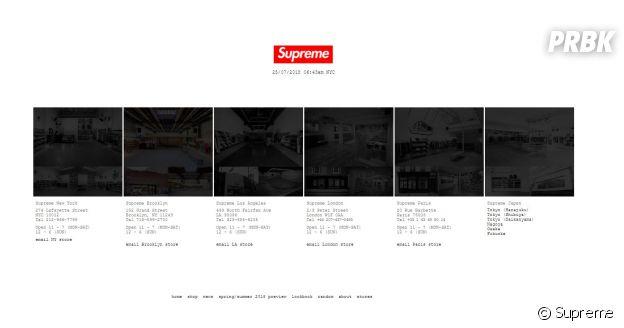 Supreme : voilà les adresses des 11 vraies boutiques dans le monde !
