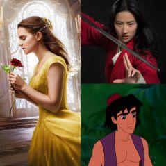 La Belle et la Bête, Mulan, Aladdin... : les personnages dans les dessins-animés VS dans les films