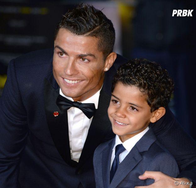 """Cristiano Ronaldo sur son fils Cristiano Jr : """"je rêve qu'il devienne footballeur professionnel"""""""