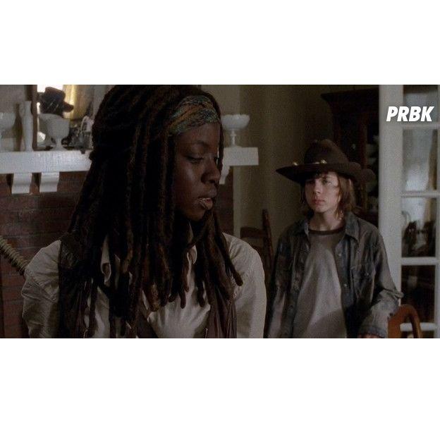 The Walking Dead saison 9 : découvrez l'hommage génial de Michonne à Carl