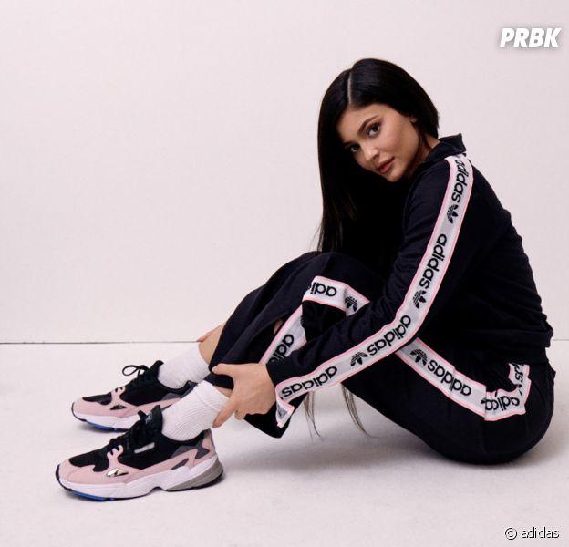 en soldes 1bf5d 2f485 Kylie Jenner en égérie stylée pour adidas : les images de sa ...
