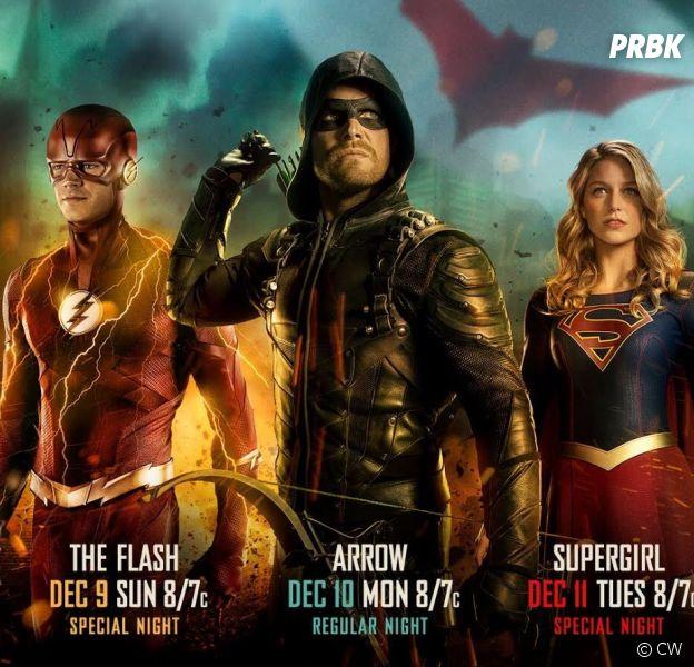 Arrow, Flash et Supergirl : un méchant fou et Arkham présents dans le crossover
