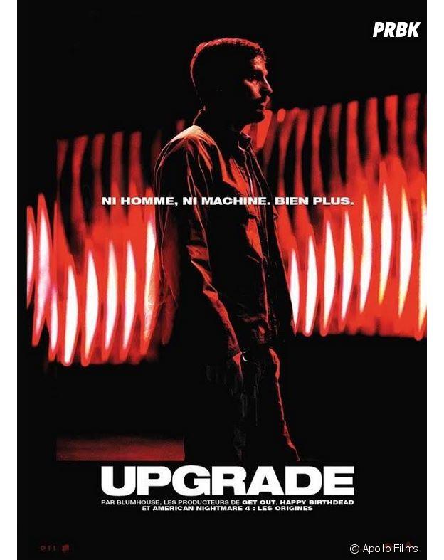 Upgrade l'affiche du film. Au cinéma le 3 octobre 2018.