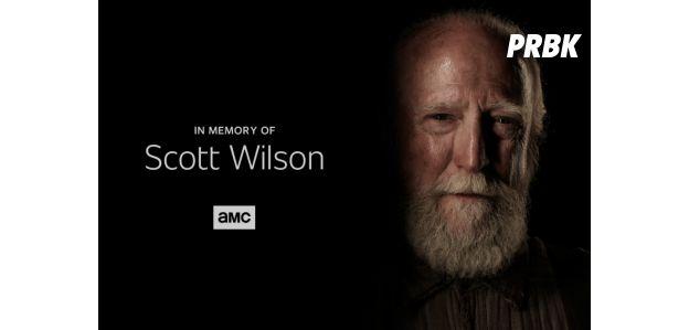 Scott Wilson honoré dans le premier épisode de la saison 9 de The Walking Dead