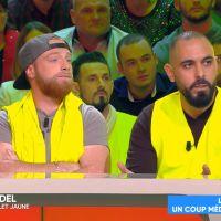 """Cyril Hanouna interpellé par des gilets jaunes, il s'engage à devenir leur """"porte-parole"""""""