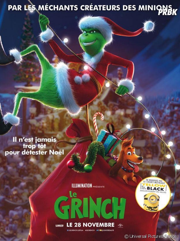Le Grinch actuellement au cinéma.