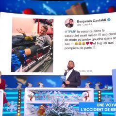 Benjamin Castaldi hospitalisé et opéré après un accident de moto... une voyante l'avait prédit !