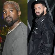 """Kanye West """"menacé"""" par Drake ? Accusations en série sur Twitter"""