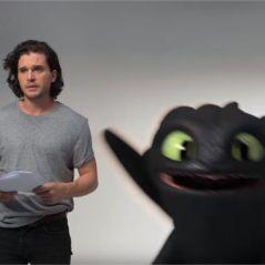 Dragons 3 : Kit Harington ridiculisé par Krokmou dans une vidéo délirante