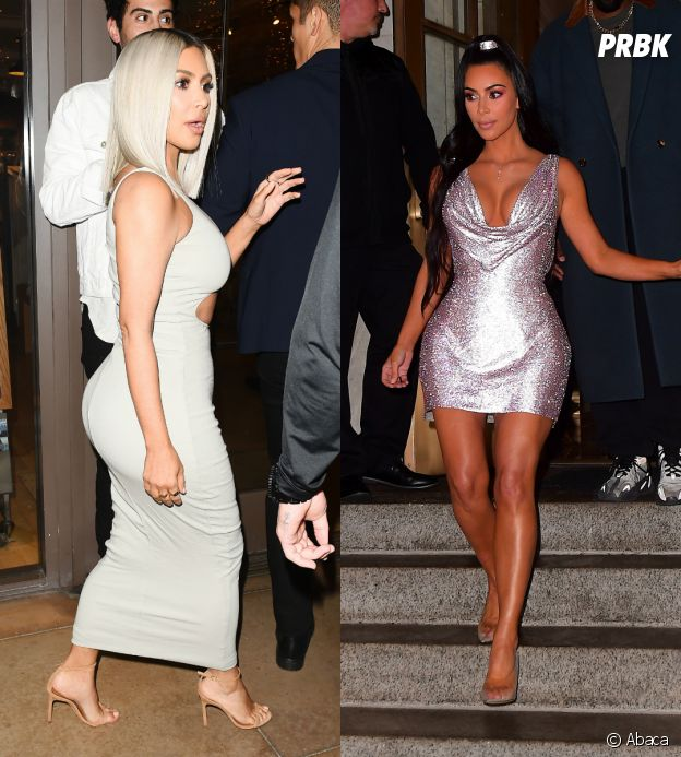 La transformation physique de Kim Kardashian en 2018.