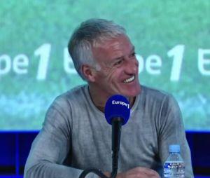 Didier Deschamps évoque ses nouvelles dents au micro d'Europe 1