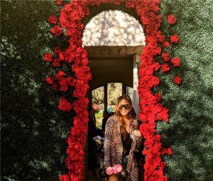 Chrissy Teigen et sa fille Luna à la fête d'anniversaire de Chicago, la fille de Kim Kardashian et Kanye West