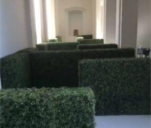 Kim Kardashian avait installé un labyrinthe géant pour l'anniversaire de sa fille