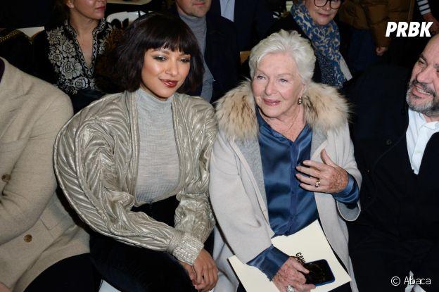 Kat Graham et Line Renaud au défilé Jean-Paul Gaultier Haute Couture printemps-été 2019.