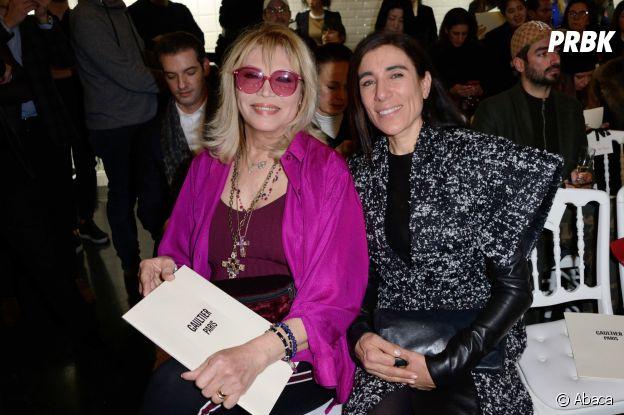 Amanda Lear et Blanca Li au défilé Jean-Paul Gaultier Haute Couture printemps-été 2019.