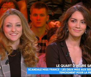 Miss France : les deux Miss filmées topless clashent dans TPMP