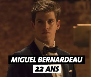 Elite : Miguel Bernardeau (Guzman) a 22 ans