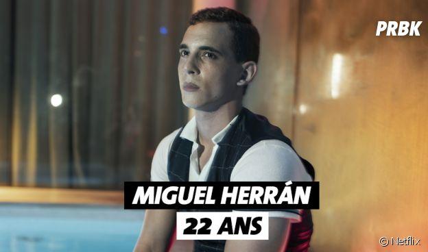 Elite : Miguel Herran (Christian) a 22 ans
