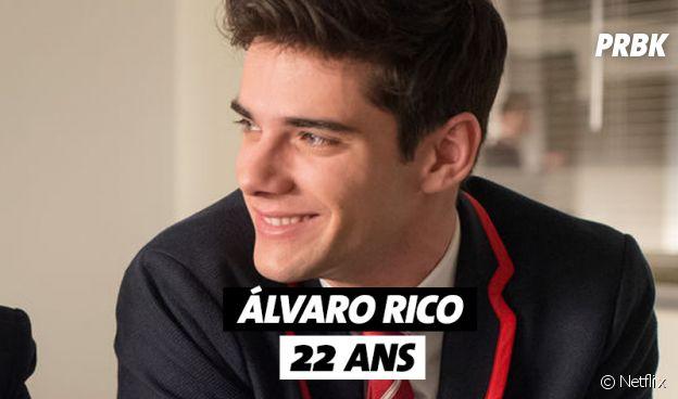 Elite : Alvaro Rico (Polo) a 22 ans