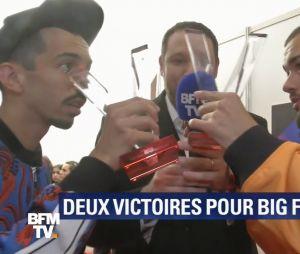 Bigflo & Oli cassent par accident leur trophée des Victoires de la musique 2019 à 3:14