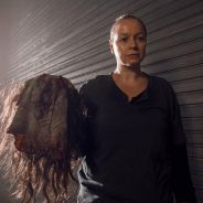 The Walking Dead saison 9 : Samantha Morton (Alpha) s'est vraiment rasée la tête pour le rôle