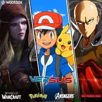 """One Punch Man, Pokémon, Warcraft... craquez pour la Wootbox """"Versus"""""""