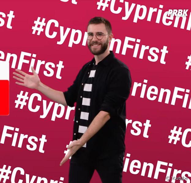 Cyprien se venge de Squeezie... en s'incrustant dans la pub de ses vidéos !