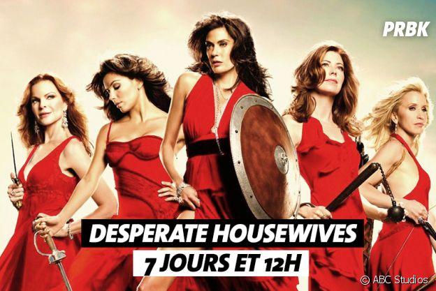Combien de temps faut-il pour regarder Desperate Housewives ?