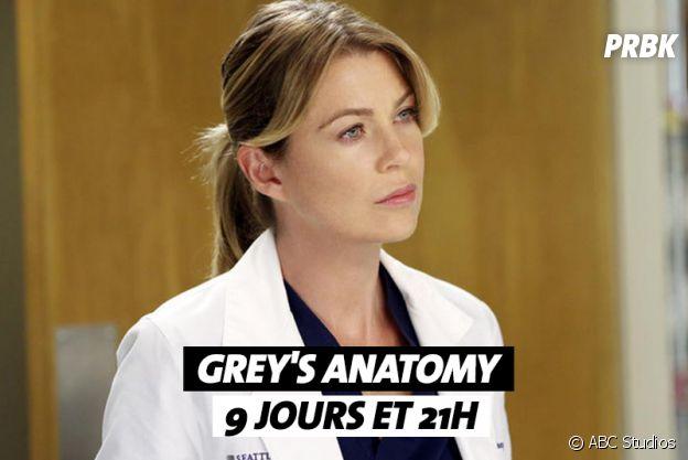 Combien de temps faut-il pour regarder Grey's Anatomy ?