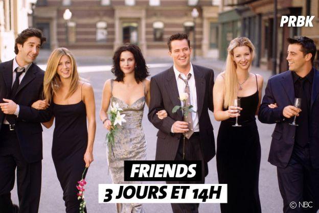 Combien de temps faut-il pour regarder Friends ?