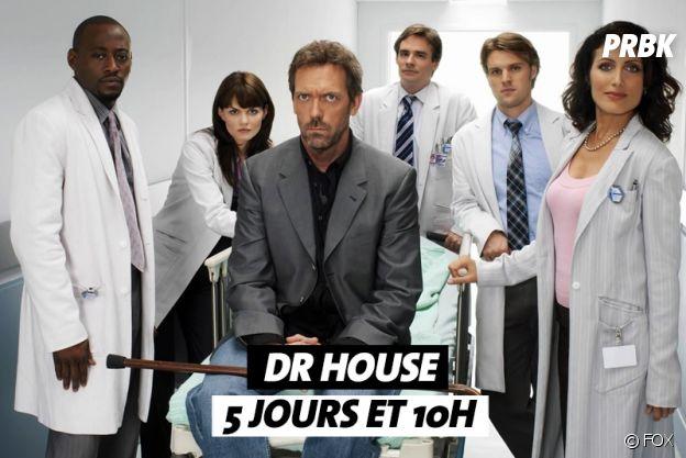 Combien de temps faut-il pour regarder Dr House ?