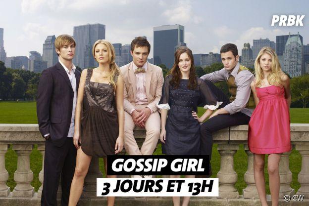 Combien de temps faut-il pour regarder Gossip Girl ?