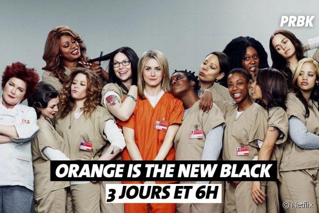 Combien de temps faut-il pour regarder Orange is the New Black ?