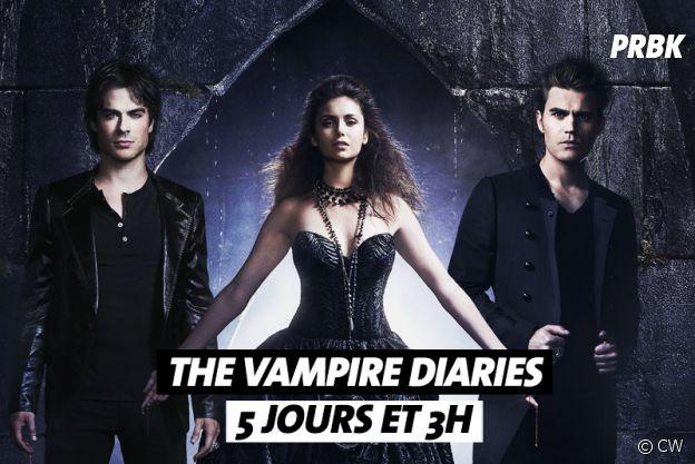 Combien de temps faut-il pour regarder The Vampire Diaries ?