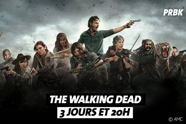 Combien de temps faut-il pour regarder The Walking Dead ?