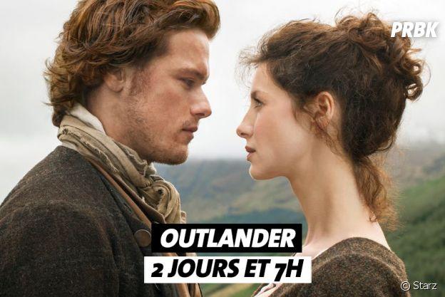 Combien de temps faut-il pour regarder Outlander ?