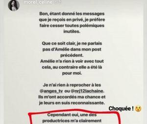 Céline (Les Anges 11) fait des révélations sur Aurélie Dotremont