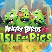 Preview Angry Birds AR: Isle of Pigs : un retour de cochon vraiment bluffant