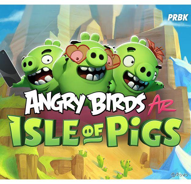 Angry Birds AR: Isle of Pigs : notre avis sur le jeu en réalité augmentée