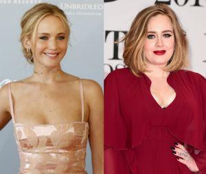 Jennifer Lawrence et Adele se lâchent lors d'une soirée délirante à New York.