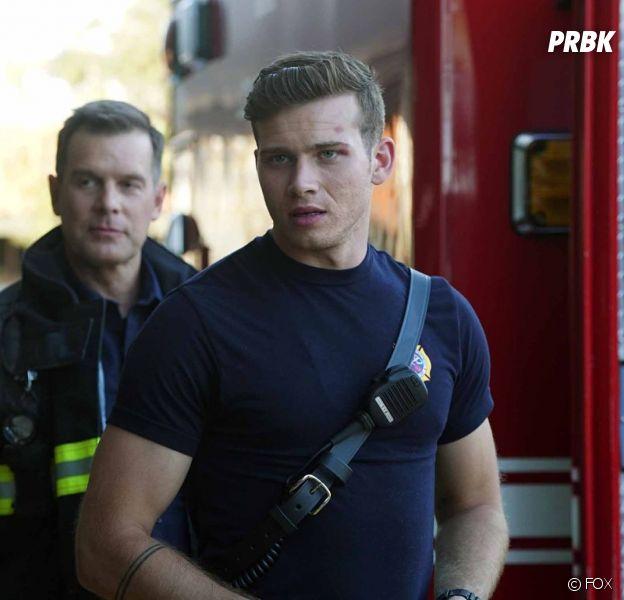 9-1-1 saison 1 : Oliver Stark (Buck) a failli être pompier dans la vie !