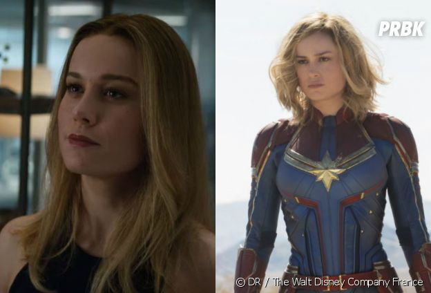 Captain Marvel dans Avengers 4 vs dans son film solo