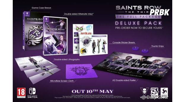 Saints Row: The Third, the full package deluxe pack
