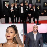 Ariana Grande, BTS, Dwayne Johnson... le top 100 des personnalités les plus influentes du Time